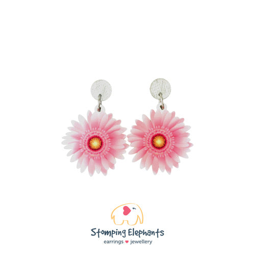 The Gerbera Earring - Black Mint Clothing