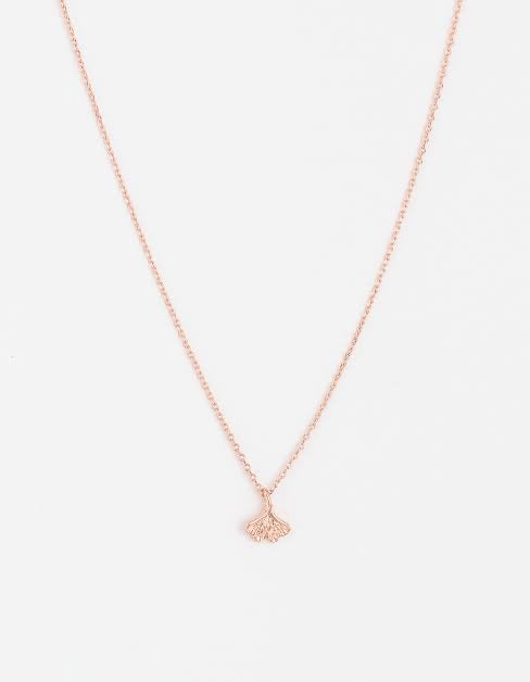 S + G Lucky Clover Necklace - Rose Gold - Black Mint Clothing
