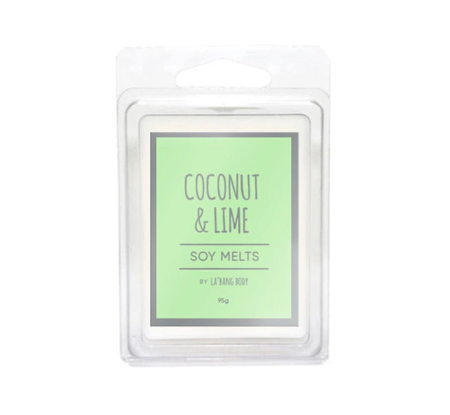 Coconut & Lime - Soy Melts - Black Mint Clothing