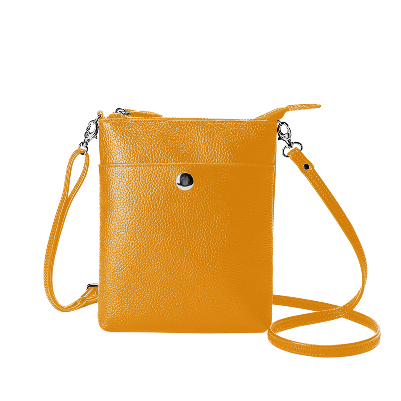 Amanda  Cross Body Bag - Mustard - Black Mint Clothing