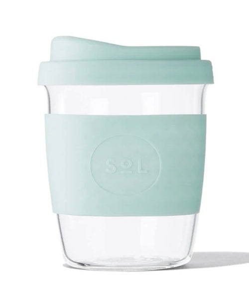 Sol Cup 8oz - Cool Cyan - Black Mint Clothing