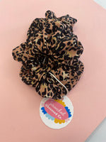Scrunched Obsessed Leopard - Assorted Colours - Black Mint Clothing