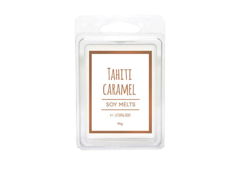 Tahiti Caramel - Soy Melts - Black Mint Clothing