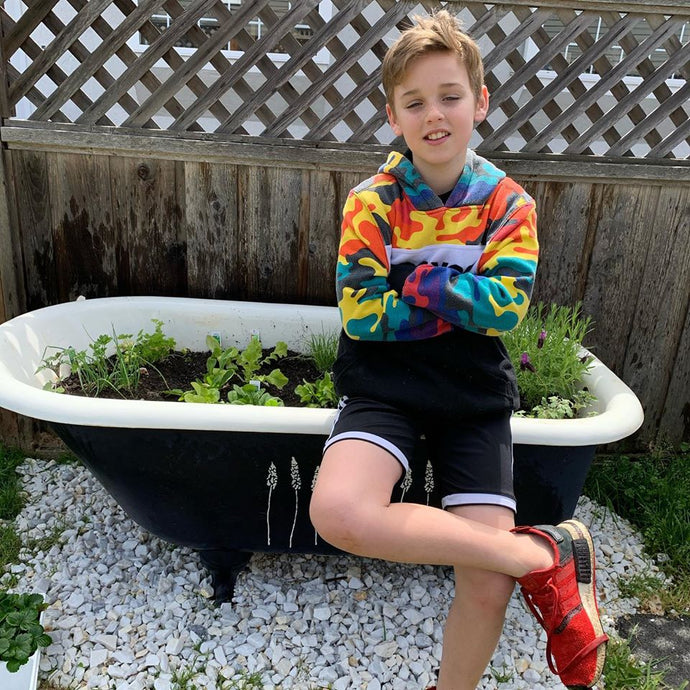Garden Bathtub Makeover