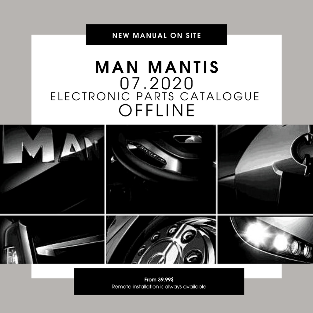 Man Mantis EPC Offline 07.2020 on site