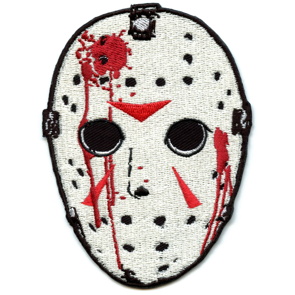 Friday the 13th Jason's Mask Embroidered Patch