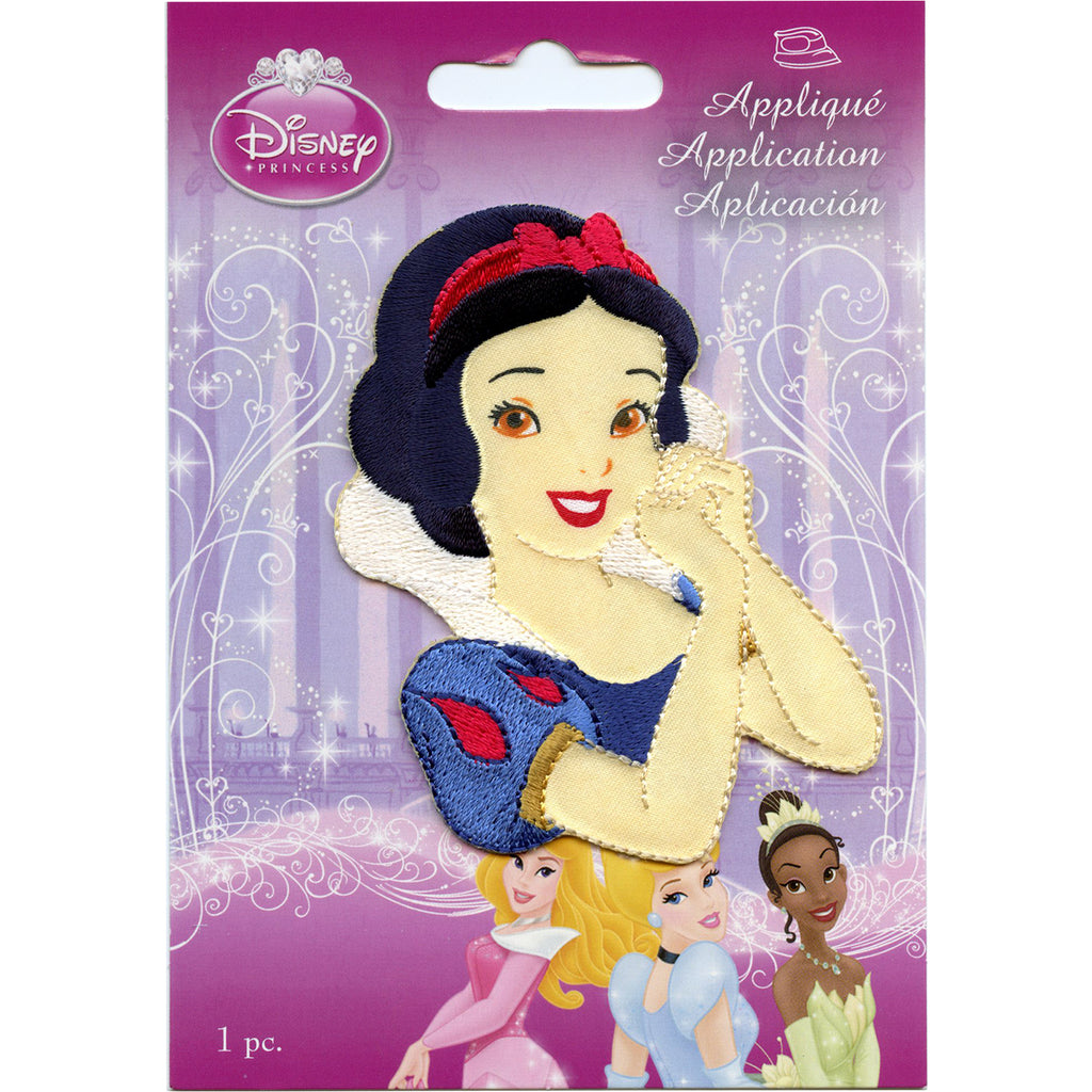 Disney Princess Snow White Portrait Iron on Embroidered Applique Patch