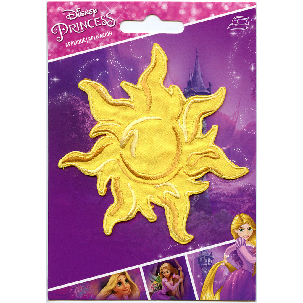 Wrights Disney Princess Iron-On Applique-Rapunzel Sun