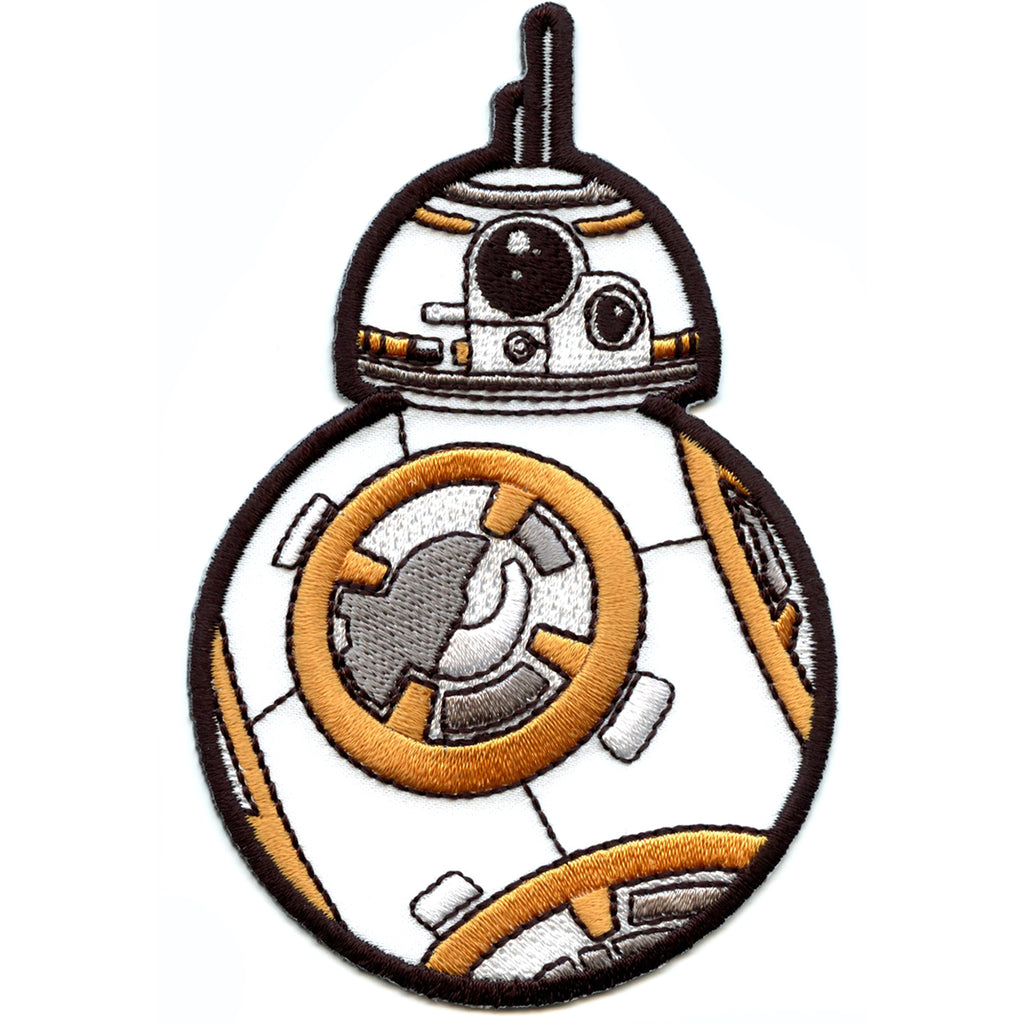 Star Wars BB-8 Iron on Applique Patch