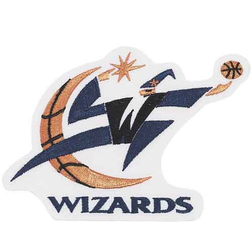 Washington Wizards Primary Team Logo Patch (2007 - 2011)