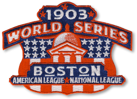 1903 Boston (Red Sox) MLB World Series Championship Jersey Patch