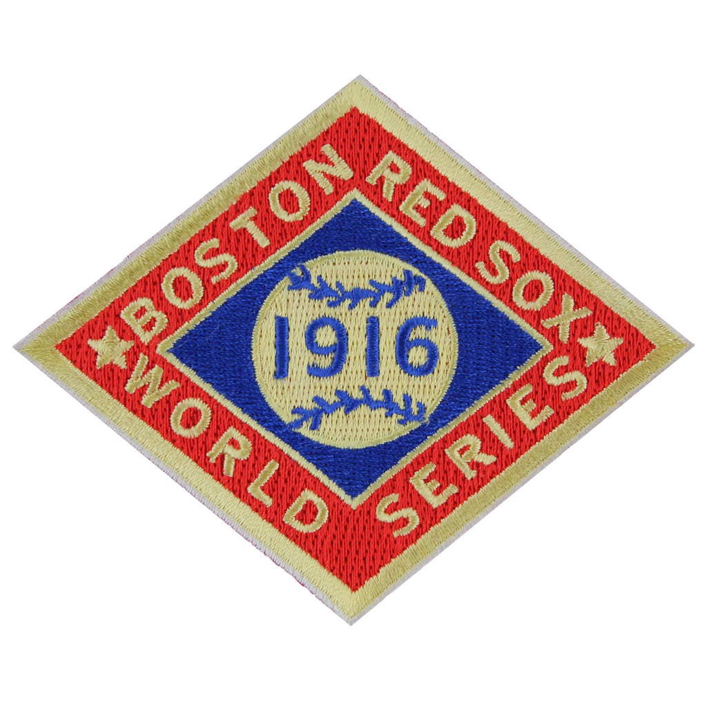 1916 Boston Red Sox MLB World Series Championship Jersey Patch