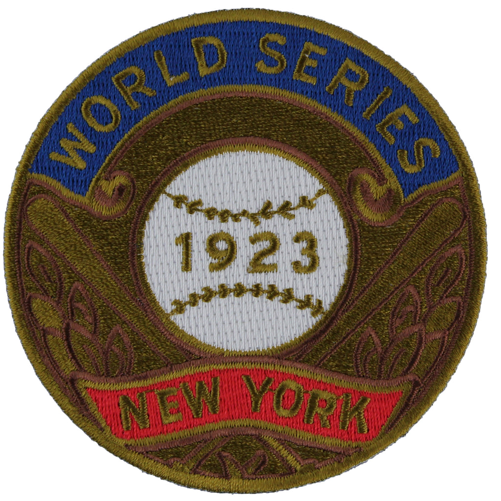 1923 New York Yankees MLB World Series Champions Jersey Logo Patch