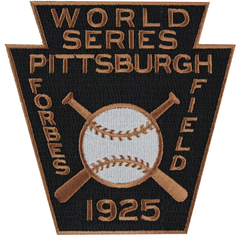 1925 MLB World Series Pittsburgh Pirates Championship Jersey Patch