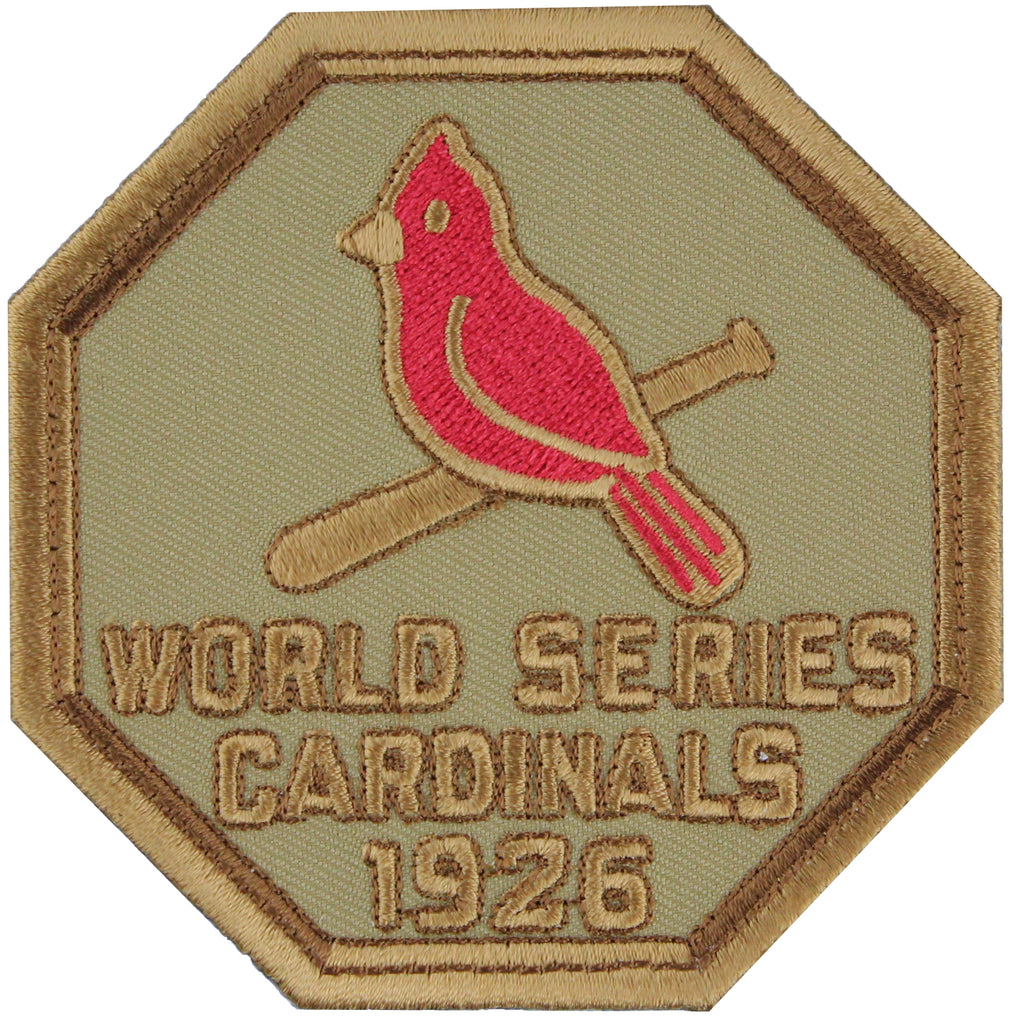 1926 St. Louis Cardinals MLB World Series Championship Jersey Patch