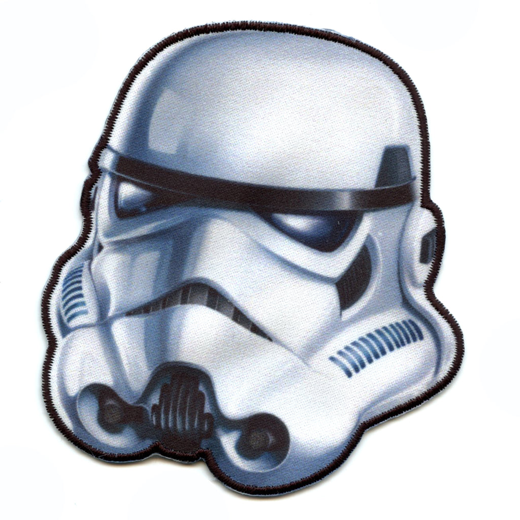 Star Wars Stormtrooper Iron on Applique Patch