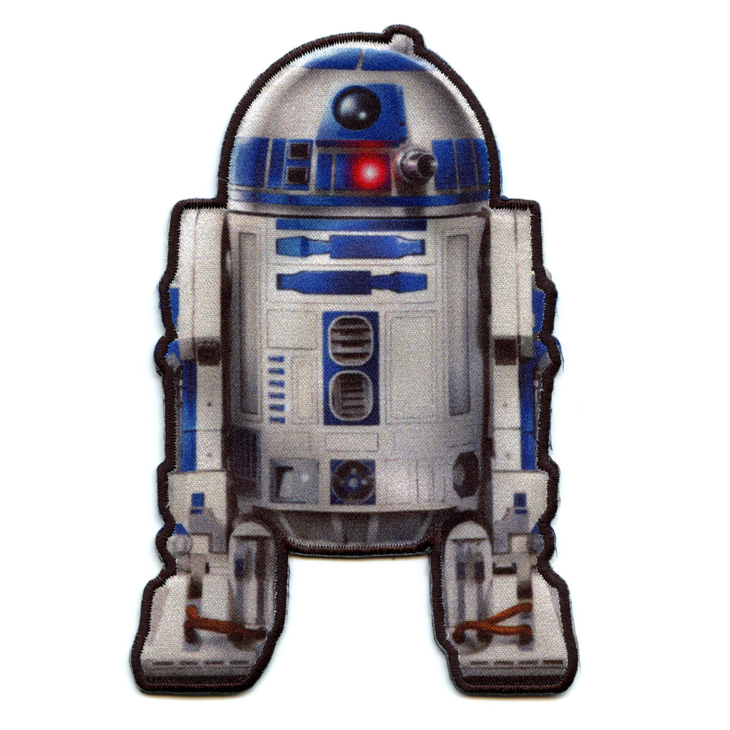 Star Wars R2-D2 Iron on Applique Patch