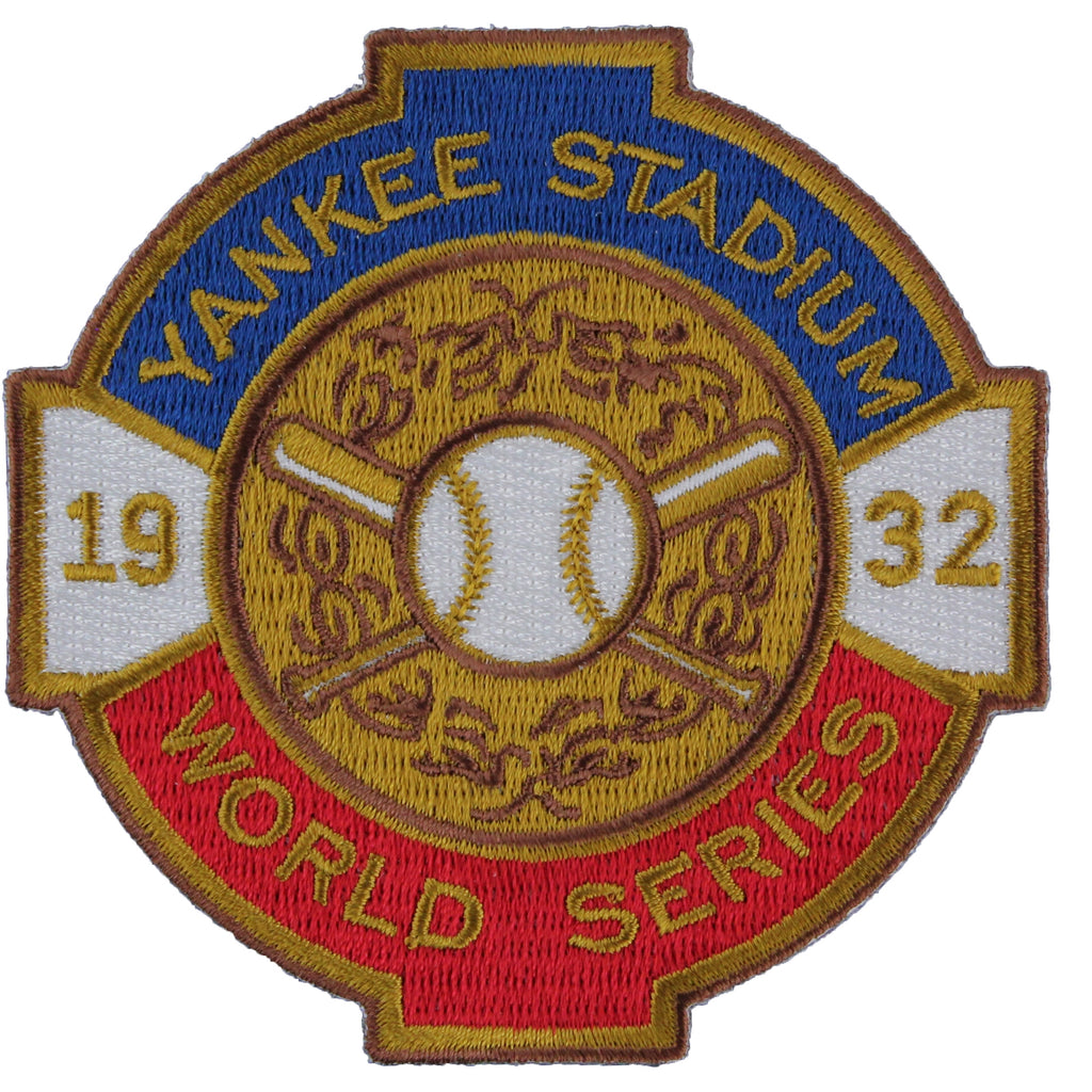 1932 New York Yankees MLB World Series Champions Jersey Logo Patch