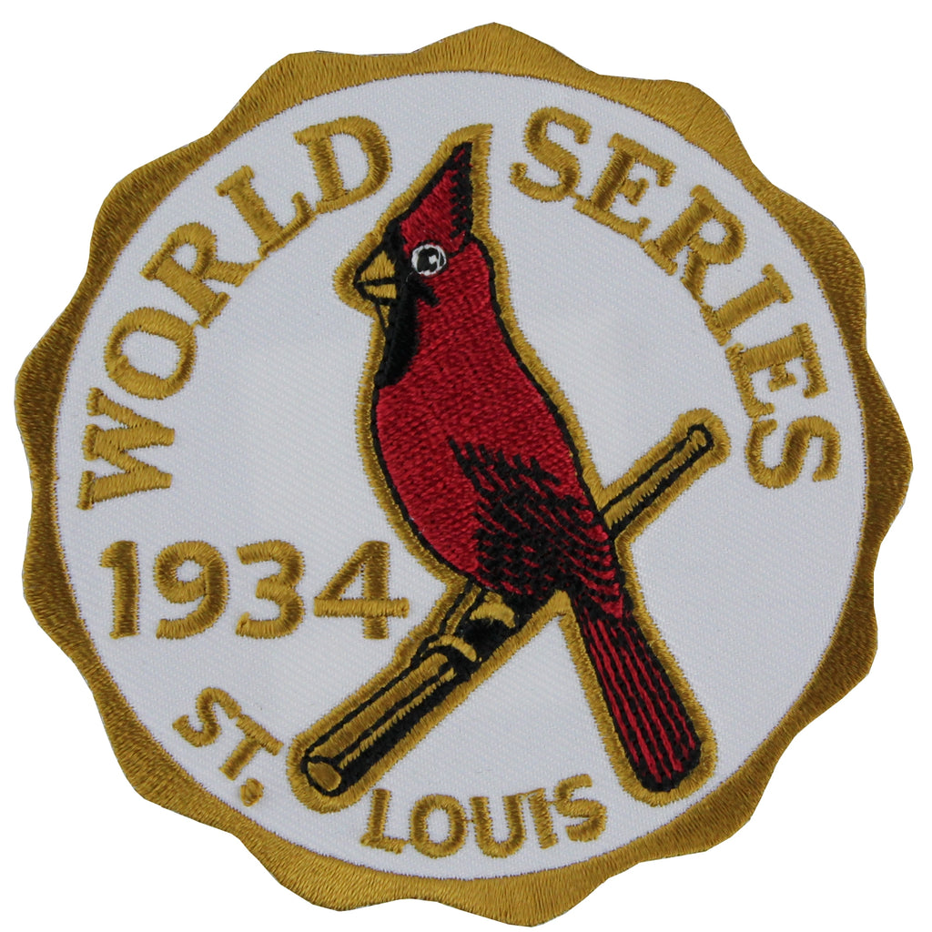 1934 St. Louis Cardinals MLB World Series Championship Jersey Patch