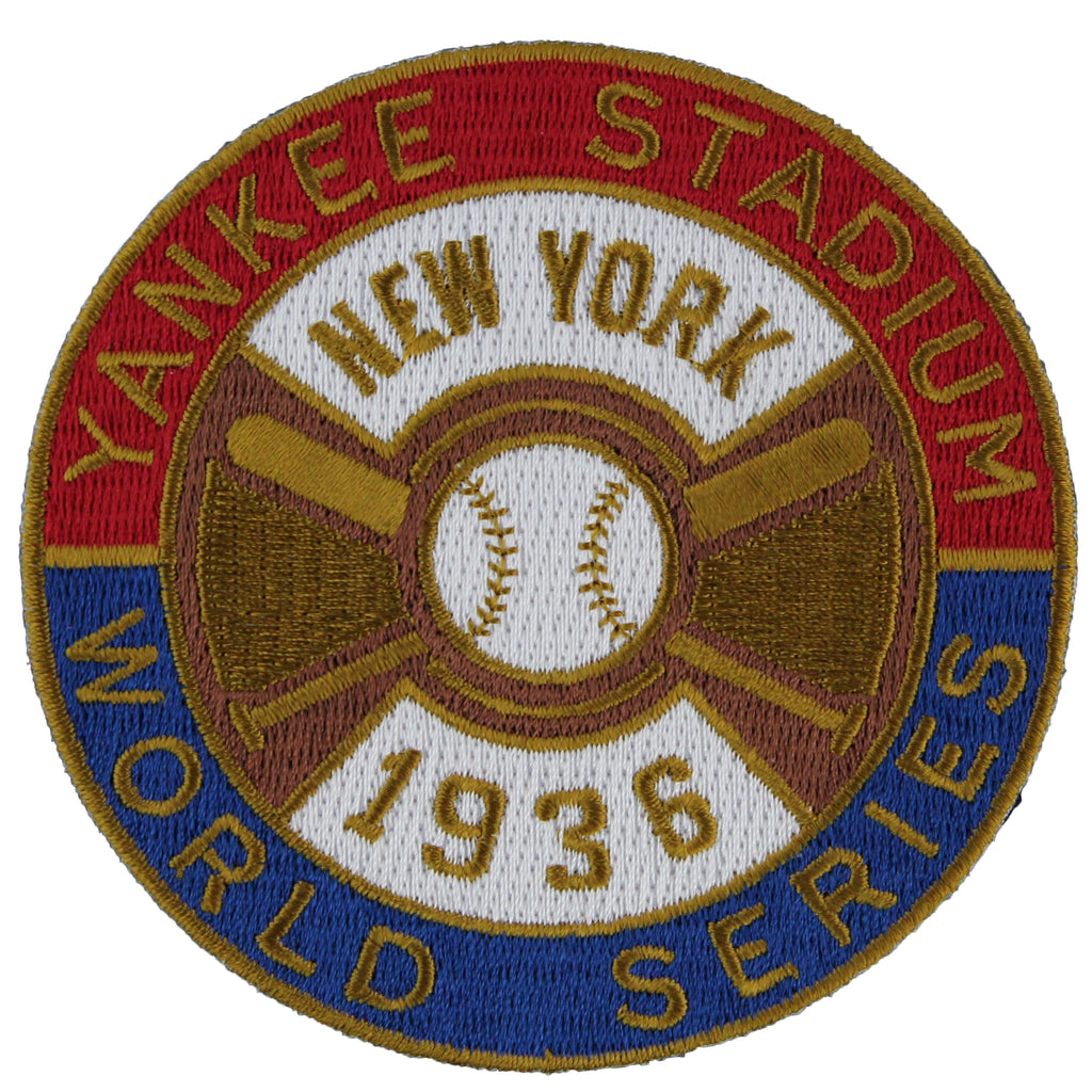 1936 New York Yankees MLB World Series Championship Jersey Patch