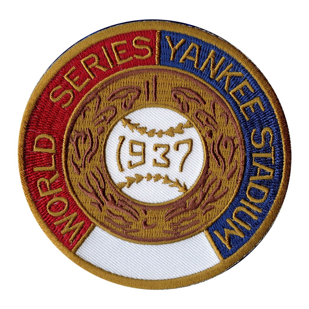 1937 New York Yankees MLB World Series Championship Jersey Patch