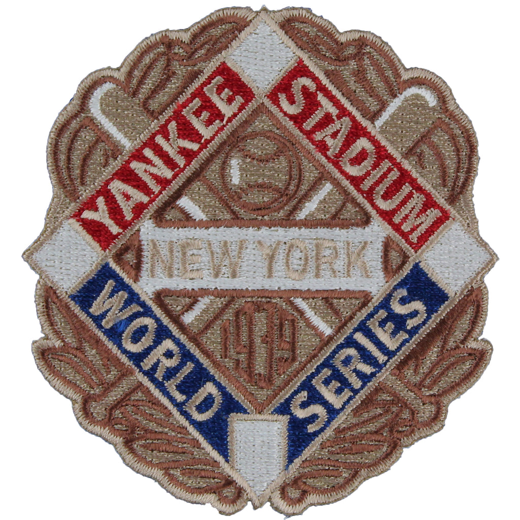 1939 New York Yankees MLB World Series Championship Logo Patch