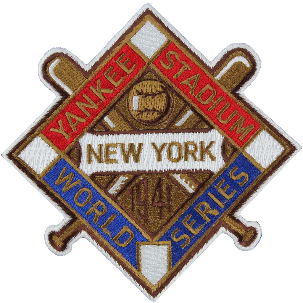 1941 New York Yankees MLB World Series Championship Jersey Patch