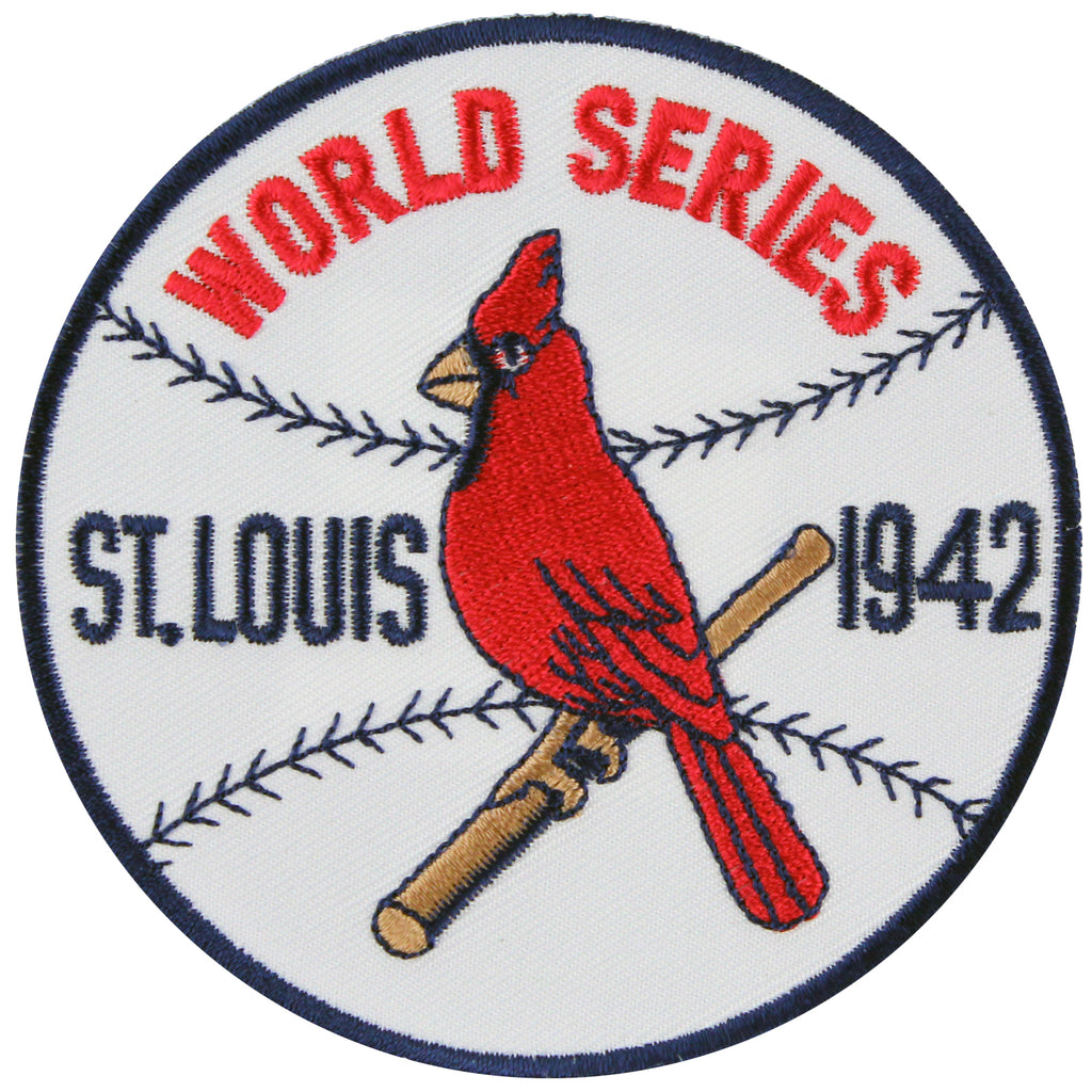 1942 St. Louis Cardinals MLB World Series Championship Jersey Patch