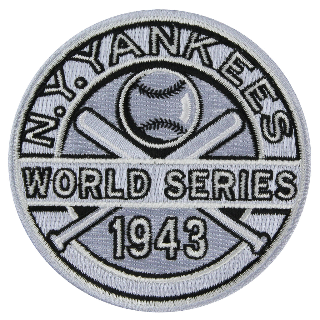 1943 New York Yankees MLB World Series Championship Jersey Patch