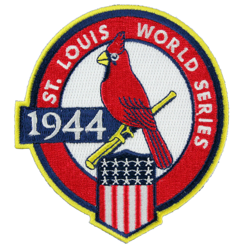 1944 St. Louis Cardinals MLB World Series Championship Jersey Patch