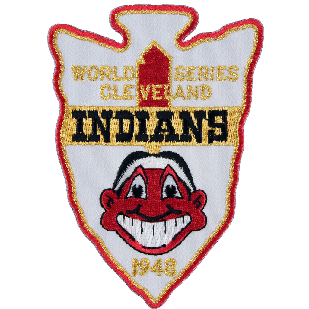 1948 Cleveland Indians Champions MLB World Series Championship Jersey Patch