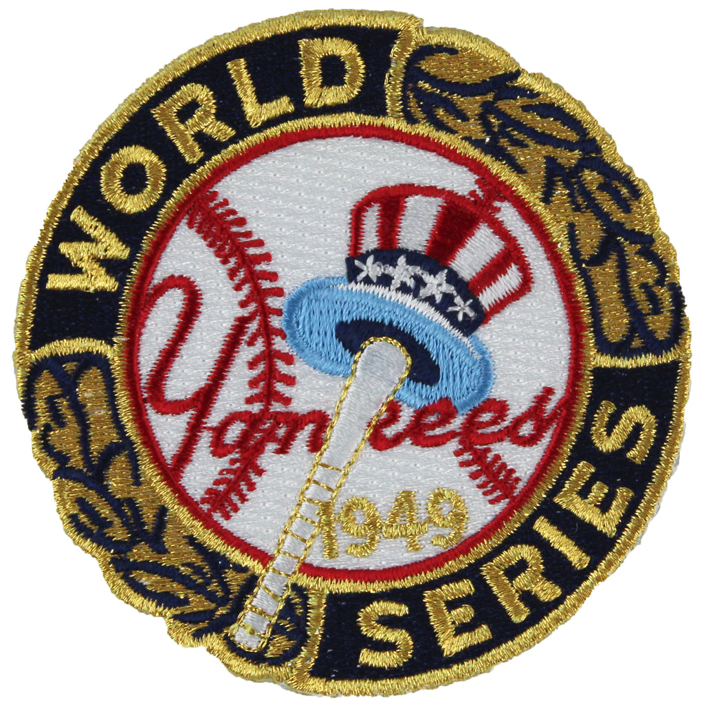 1949 New York Yankees MLB World Series Championship Jersey Patch