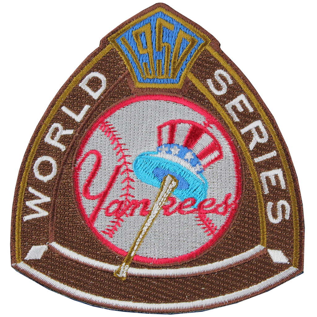 1950 New York Yankees MLB World Series Champions Jersey Logo Patch