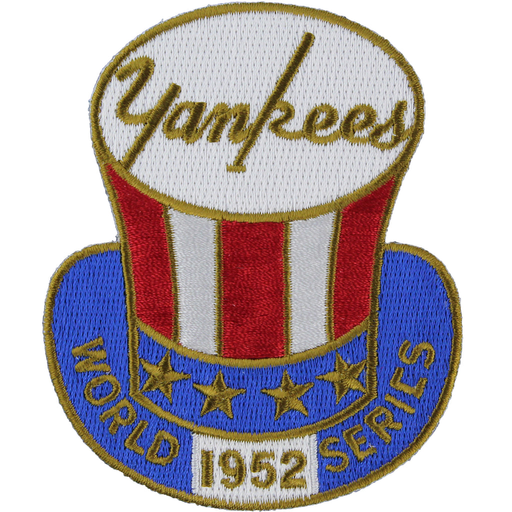 1952 New York Yankees MLB World Series Championship Jersey Patch