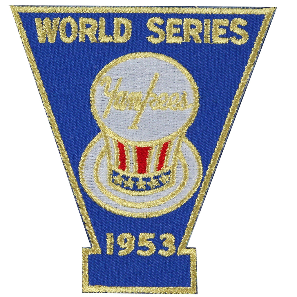 1953 New York Yankees MLB World Series Championship Jersey Patch