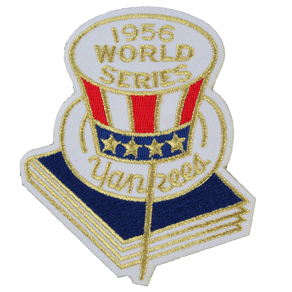 1956 New York Yankees MLB World Series Championship Jersey Patch
