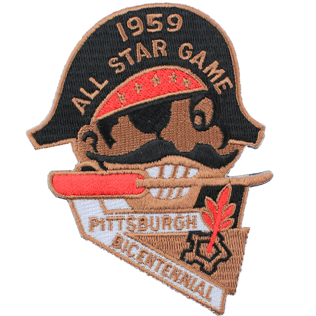 1959 MLB All Star Game Pittsburgh Pirates Forbes Field Jersey Patch