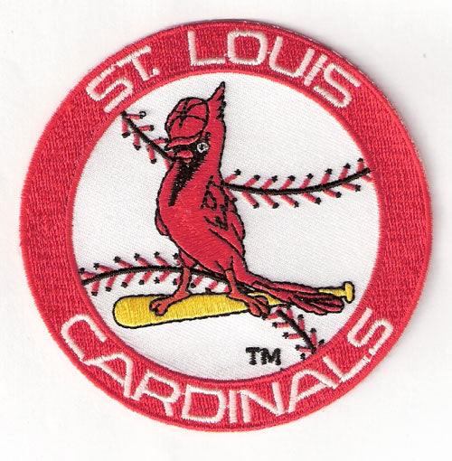 St. Louis Cardinals Retro 1960's Logo Patch