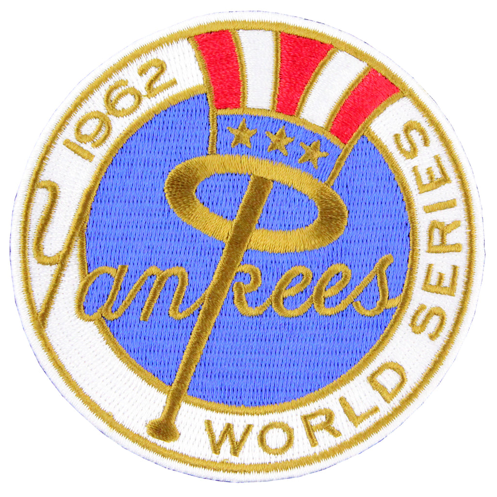 1962 New York Yankees MLB World Series Championship Jersey Patch