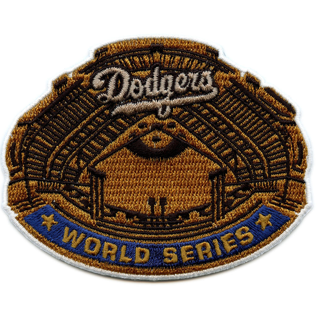 1963 Los Angeles Dodgers MLB World Series Championship Jersey Patch