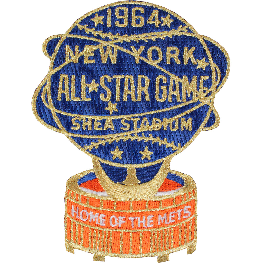 1964 MLB All Star Game New York Mets Shea Stadium Jersey Patch
