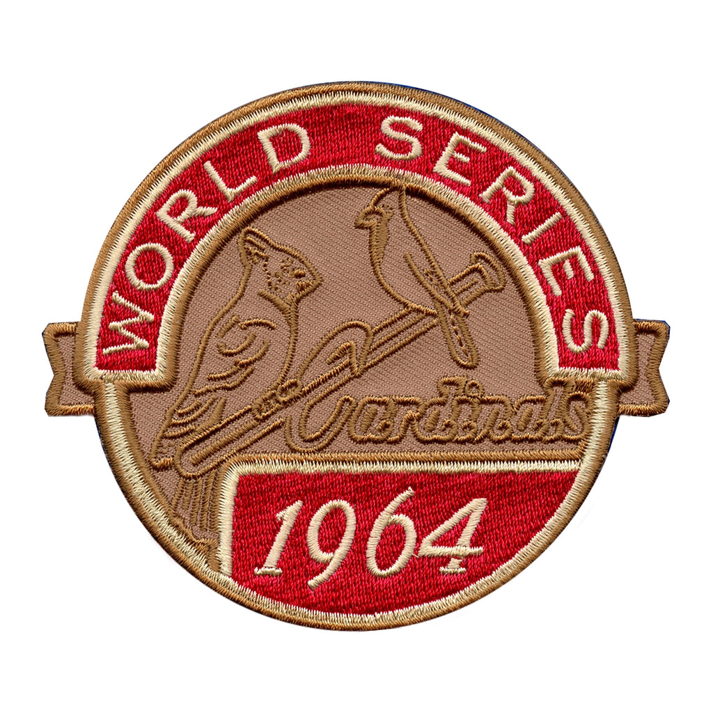 1964 St. Louis Cardinals MLB World Series Championship Jersey Patch