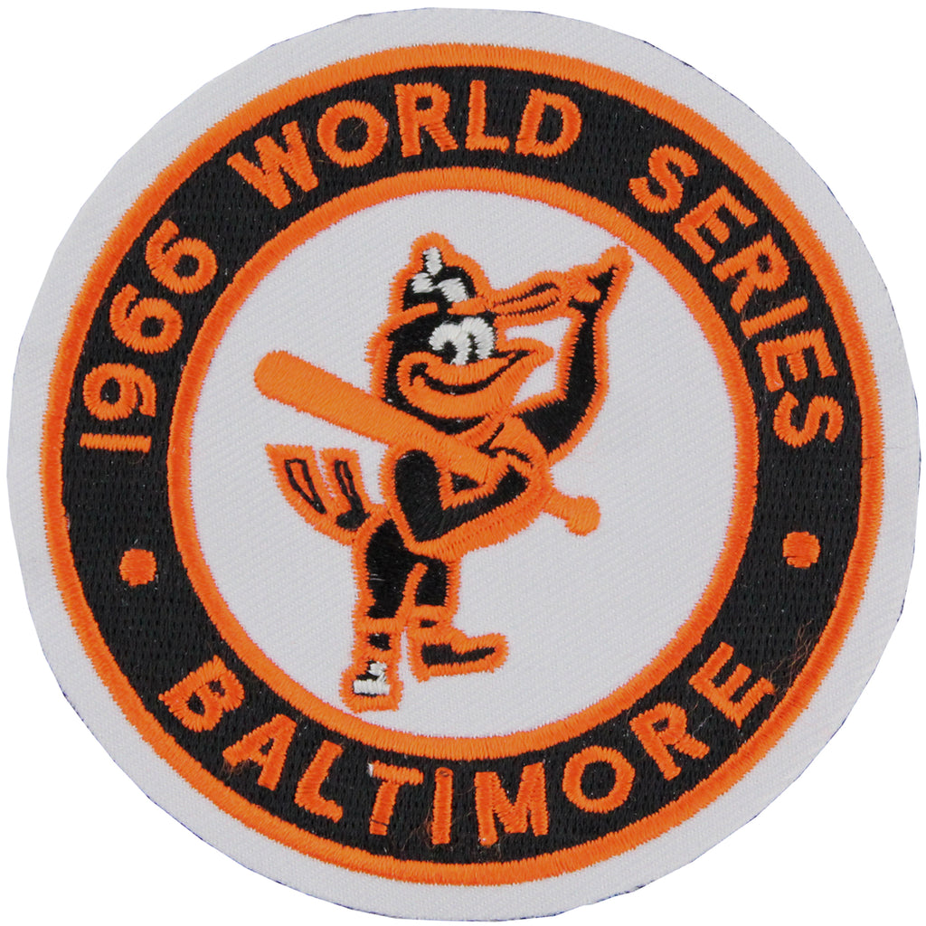 1966 Baltimore Orioles MLB World Series Championship Jersey Patch