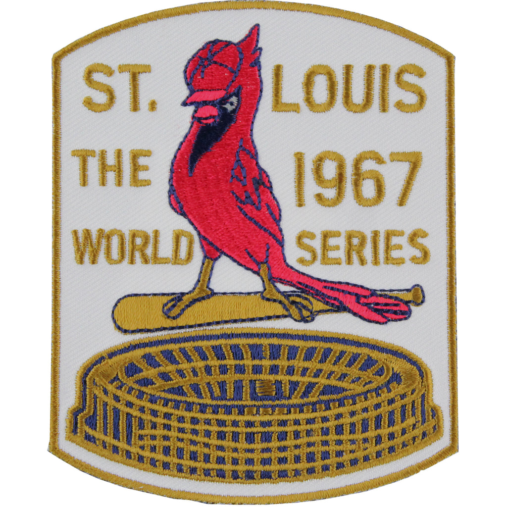 1967 St. Louis Cardinals MLB World Series Championship Jersey Patch