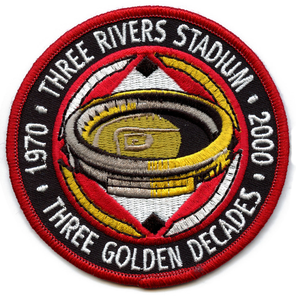 2000 Pittsburgh Pirates Three Rivers Stadium 30th Anniversary Official Patch