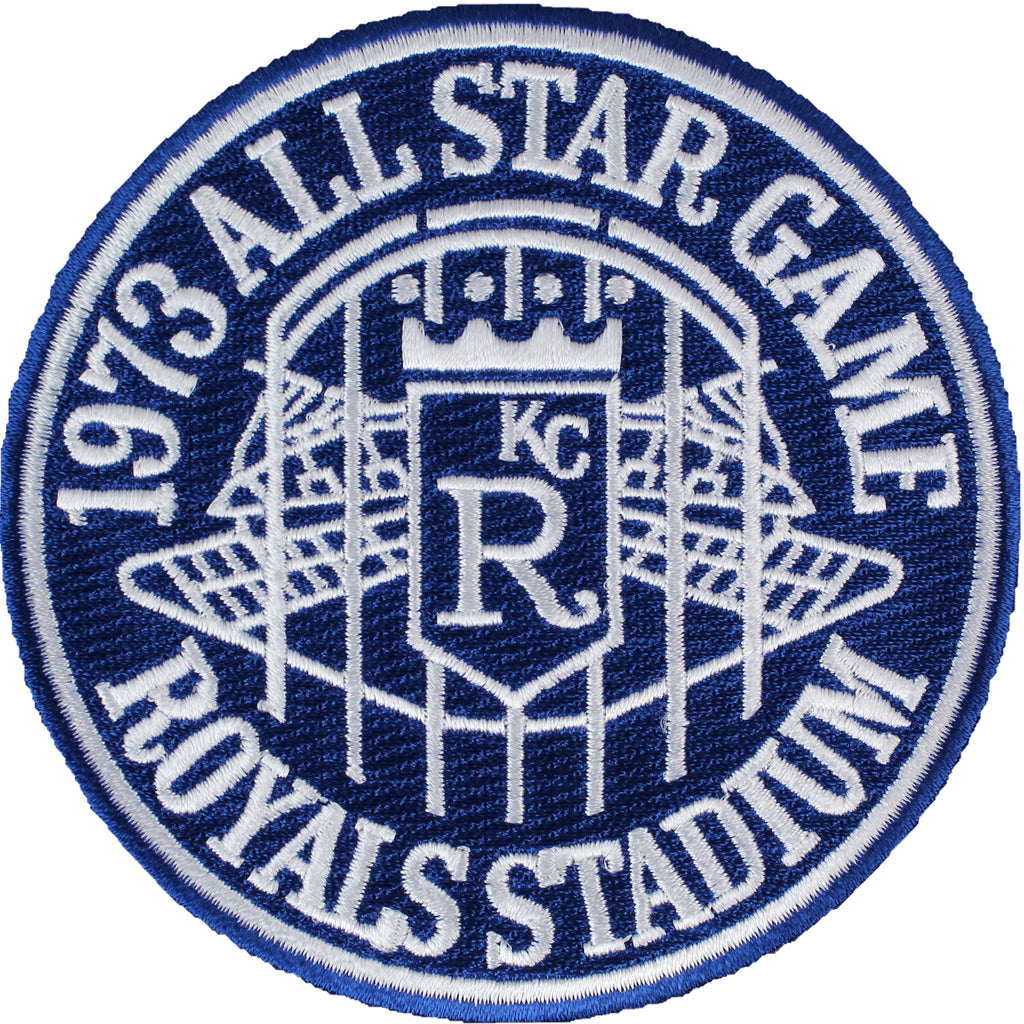 1973 MLB All Star Game Patch Kansas City Royals Stadium Jersey Patch