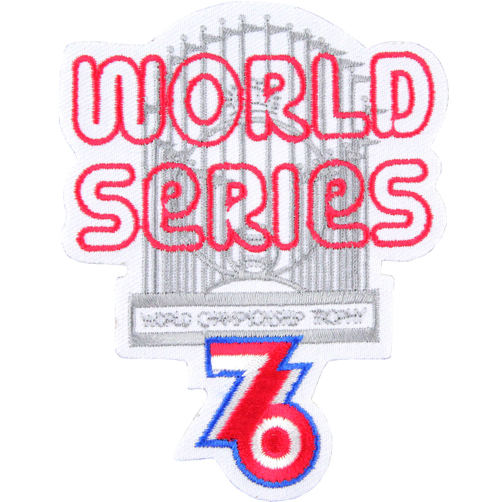 1976 MLB World Series Championship Logo Jersey Patch Cincinnati Reds vs. New York Yankees