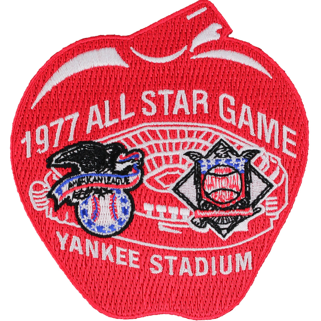 1977 MLB All Star Game New York Yankees Stadium Jersey Patch