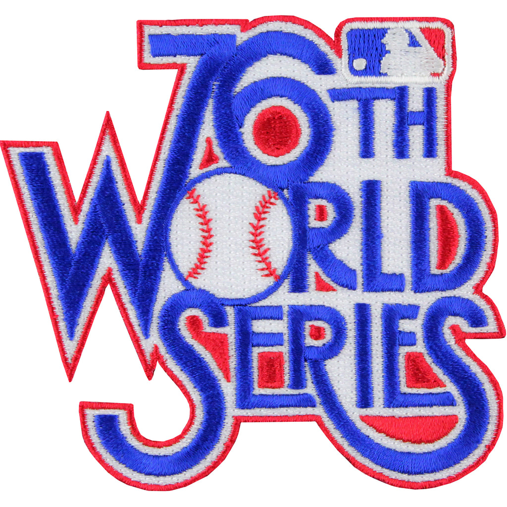 1979 '76th' MLB World Series Logo Jersey Patch Pittsburgh Pirates vs. Baltimore Orioles