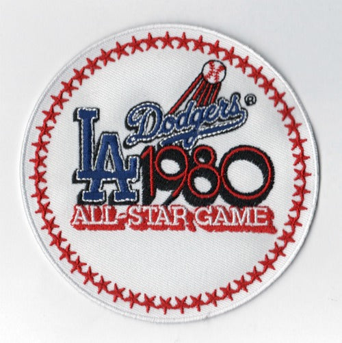 1980 MLB All Star Game Los Angeles Dodgers Stadium Jersey Patch